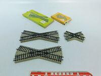 AV837-0,5# 3x Märklin/Marklin H0/AC Kreuzung 5114+5211 M-Gleis + 2x OVP
