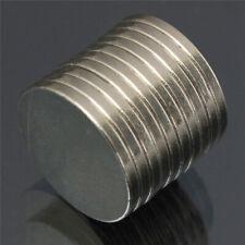 JU_ 10Pcs N30 20x2mm Round Disc Strong Blocks Rare Earth Neodymium Fridge Magn