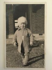 Vintage Postcard - RP Anonymous People - Child #2