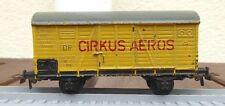 Piko Express H0 Bakelith Güterwagen Cirkus Aeros der DR mit Kunststoffachsen