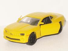 Majorette Chevrolet New 2010 Camaro Yellow Model Toy Car Rare 2015 Issue