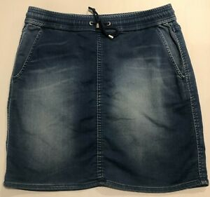 Jeans West Denim Stretch Skirt Size 10 - Comfortable