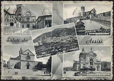 AD4576 Saluti da Assisi (PG) - Vedute - Cartolina postale - Postcard