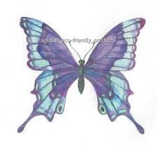 PURPLE AND BLUE BUTTERFLY Temporary Tattoo SEE SIZE IN LISTING
