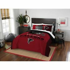 Atlanta Falcons Nfl Full 3 Piece Comforter Bedding Team Logo Bed in Bag Set
