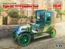ICM MODELS 35658 TYPE AG 1910 LONDON TAXI SCALE MODEL KIT 1/35