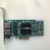 HP INTEL Gigabit Dual PORT GIGABIT ETHERNET PCIe NIC Card EXPI9402PT 82571