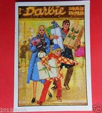 figurines prentjes cromos stickers picture cards figurine barbie 217 panini 1976