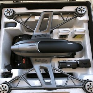 Yuneec Typhoon Q500 Drone with 4K camera And 2 Packs Excellent Shape! Case Inc