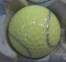 (1) Tennis Ball Logo Golf Ball