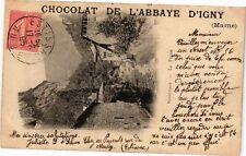 CPA  Chocolat de l'Abbaye d'Igny     (241890)
