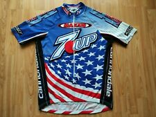 7UP Maxxis Team USA National Champion Jersey 2003 Kevin Monahan Cannondale L