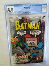 BATMAN #183 CGC GRADED 4.0 COMIC -- AUG 1966 2nd APP OF POISON IVY