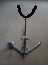 Saxophone Clarinette Stand. métallique robuste Design. Pliable. portable.