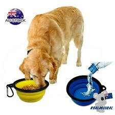 Pet Deal Dog Bowl Cat Travel Silicone Collapsible Feeding Water Portable Dish