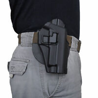 CS Tactical Concealed Carry Right Waist Paddle Belt Hand Holster for P226 P229