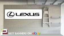 LEXUS Workshop Garage Banner, is200, gs300, rx300, ct200h
