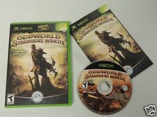 Oddworld Wrath Complete Original XBOX 1 Video Game System DISK FLAWLESS