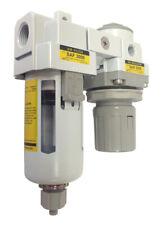 Pneumaticplus Compressed Air Filter Regulator 38 Npt Sau3020m N03g R