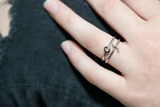 Initial Ring, Alphabet Ring, Name Ring, Stacking Ring, Dainty Jewelry,