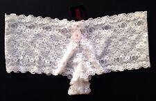 Briefs / Knickers La SENZA White UK 18 Floral Lace