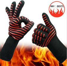 1 Paar 500°C Grillhandschuhe Ofenhandschuh Topfhandschuh Kochhandschuh Handschuh