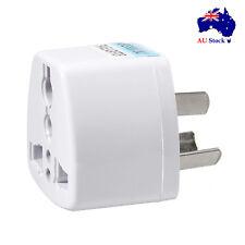Universal US UK EU to AU Australian Wall Plug Travel Power Adapter Converter