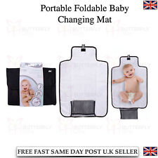 Portable Foldable Washable Baby Travel Diaper Changing Mat Pad