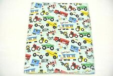 """Baby Blanket Police Cars Ambulances Fire Trucks Trains Can Personalized 36x40"""""""