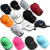 NEW NIKE Dri-FIT Tennis Featherlight Adjustable Cap Hat black white navy Unisex