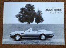 ASTON MARTIN VOLANTE james bond DBS BROCHURE  DB 5 6 007