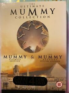 The Ultimate Mummy Collection - The Mummy / The Mummy Returns (DVD, 2001, 4-Disc