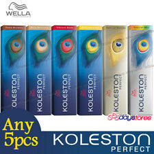 Any 5pcs - Wella Koleston Perfect Permanent Hair Color Dye 60g