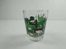 VINTAGE STATE OF ARKANSAS WILDLIFE SOUVENIR SHOT-GLASS RETRO DECOR BARWARE BAR
