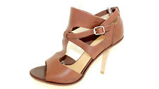 LLOYD High Heels Pumps Stilettos 40 UK 6,5 Leder braun elegante Schuhe TOP