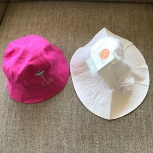 NWT Carter's  Girl's Sun Hat Bundle Size 2-6T