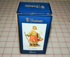 "Roman Fontanini 5"" Zina, Basket Weaver's Wife (54093) New in Box"