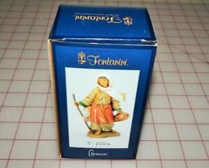 "Roman Fontanini 5"" Zina, Basket Weaver's Wife (54093) New in Box"