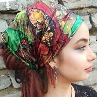 Elastic Headband Wide Hairband Head Wrap Yoga Stretch Turban Sport Bandanas J4T5