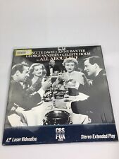 All About Eve Laserdisc