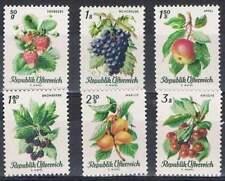 Oostenrijk postfris 1966 MNH 1223-1228 - Fruit