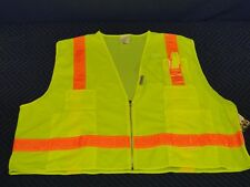 Occulux LUX-SSLSDZ Multi-Pocket Safety Vest Reflective Stripes Construction  L46