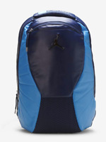 AIR JORDAN RETRO 12 XII LAPTOP BACKPACK NAVY CAROLINA BLUE *NEW* [9A1773-U90]