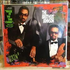 [SOUL/FUNK]~EXC LP~The BROTHERS JOHNSON~Kickin'~{OG 1988~A&M~Issue]