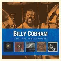 BILLY COBHAM - ORIGINAL ALBUM SERIES (CROSSWINDS/SPECTRUM/+)  5 CD NEU