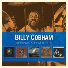Billy Cobham-Original Album Series (CROSSWINDS/Spectrum/+) 5 CD NUOVO