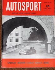 Autosport 29/1/54 - MONTE CARLO RALLY REPORT - AC ACE ROAD TEST - AUCKLAND GP