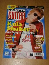 TOTAL GUITAR #45 KULA SHAKER CLAPTON DEEP PURPLE REED