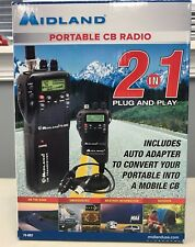 Midland 75-822 Handheld Portable Mobile NOAA Weather CB-Radio BRAND NEW