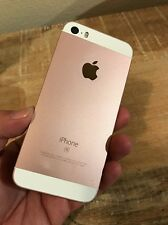Apple iPhone SE A1662 16GB ROSE GOLD - AT&T  Smartphone As Is NR